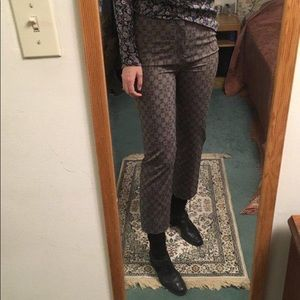 Monogram Pattern Trousers